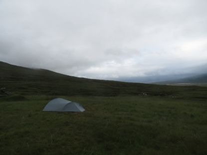 Camp at Old Corrour Lodge